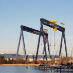 Kikötői portáldaru, ha fontos a védelem