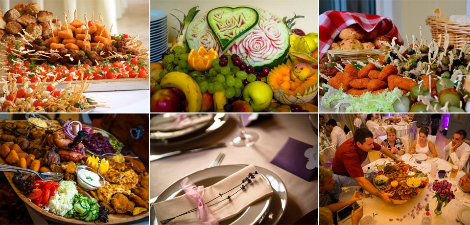 esküvői vacsora menüsor