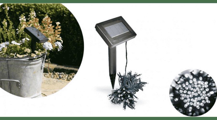 napelemes fényfüzér